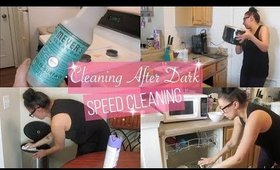 Cleaning After Dark   Evening Cleaning Routine   Speed Cleaning Motivation
