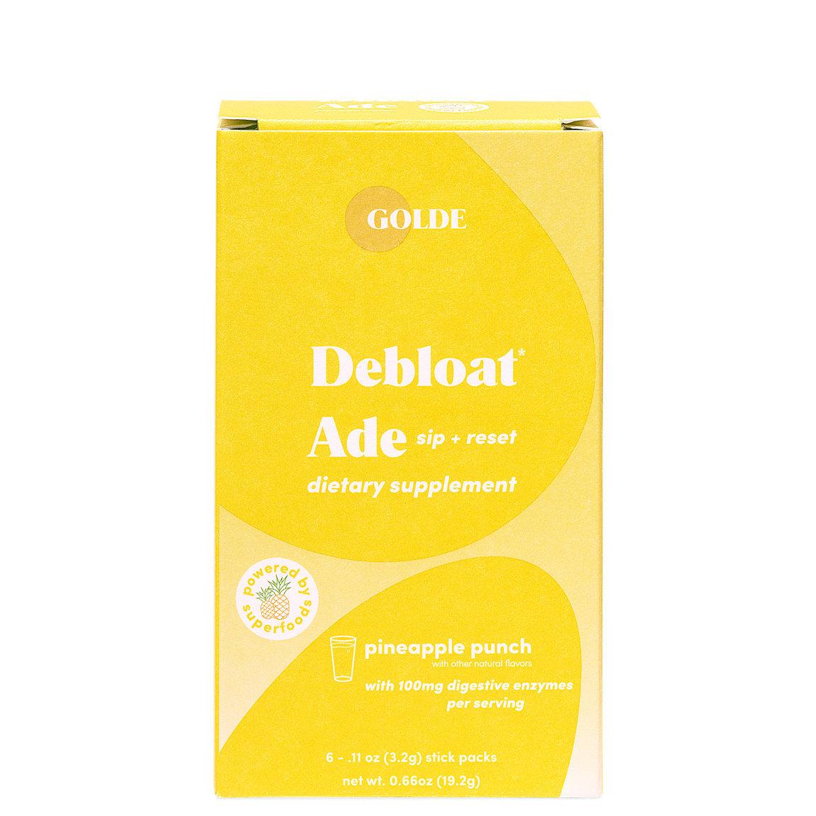 Golde Debloat Ade alternative view 1 - product swatch.