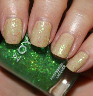 Zoya Cho with Opal Fleck Effect