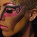 Fantasy makeup todays class