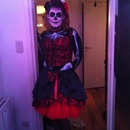 Halloween lady of the dead