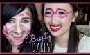 ♡  BEAUTY DARES!!! (TAG) ♡ with Cdiorme - hollyannaeree ♡