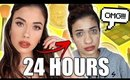 I WORE MAKEUP for 24 HOURS 😱 What Happened to My Skin?