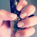 Pink and gold nail fun