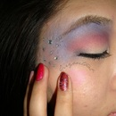 Dramatic 4th of July Look