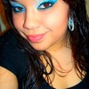 Frosted Eyes With Blue Liner