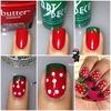 DIY Strawberry Nails