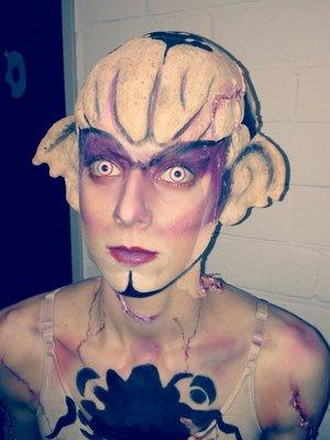Make up que j'ai réalisée