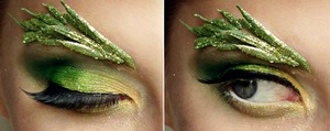 Tinkerbell Inspired Makeup  See more from my Disney inspired series at: http://pigmentsandpalettes.blogspot.com/
