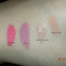 MAC swatches