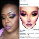 Valerie Vixen Face Chart Inspiration