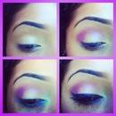 Light Purple With Blue :)