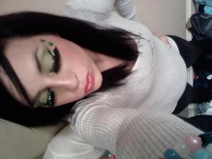 some of my favorite lashes from MAC. i dunno what they were but MAN. they were AAAMAAZINNGG!!... silly nights before EDC.