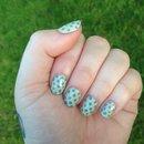 Spring Polk-A-Dot nails