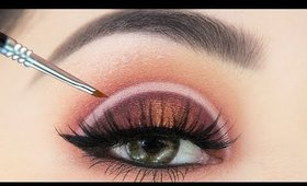Half Moon HALO Eyeshadow Makeup Tutorial for Beginners   How to do Halo Eyes the Easy Way!