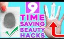 9 Time Saving Beauty Hacks You Should Know By Now!