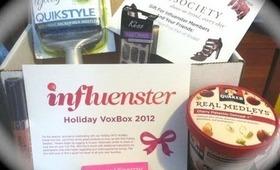 Influenster Holiday VoxBox & Starbox WINNER!