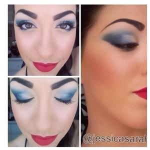 Nautical makeup