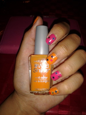 Wet and Wild Nail Polish, Orange, Sunny Side up