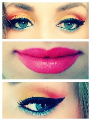 A easy Make up for the Summer
