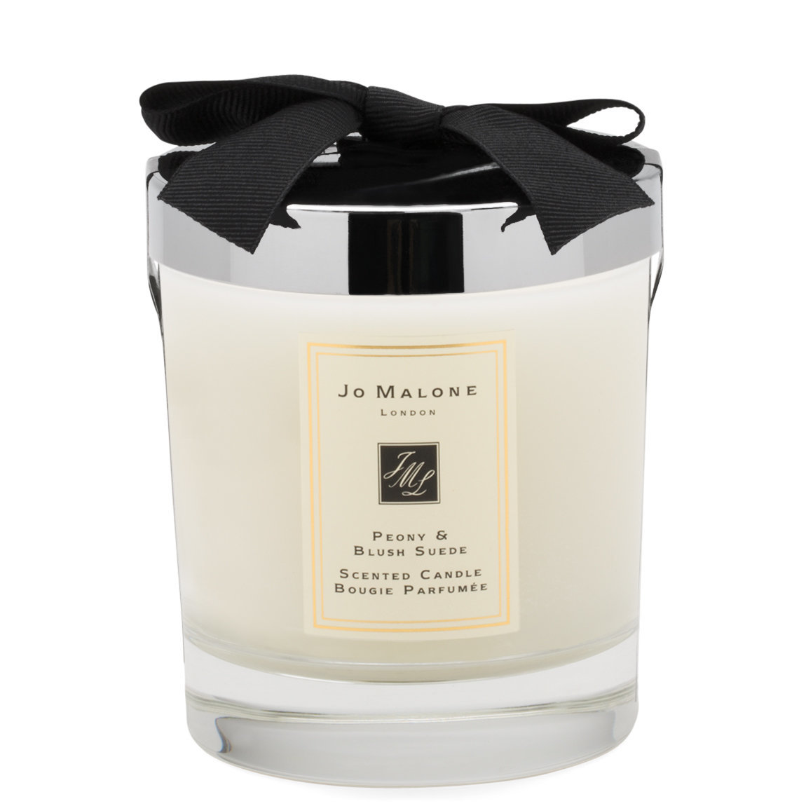 Jo Malone London Peony & Blush Suede Scented Candle product swatch.