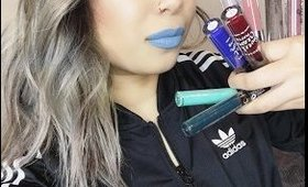 HUGE Liquid Lipstick   Beauty Haul