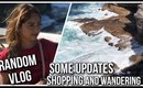 Random VLOG | Some Updates, Shopping and Roaming | Stacey Castanha