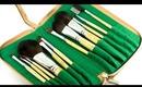 Royal & Langnickel SILK Green Line Brush Kit Review & Giveaway