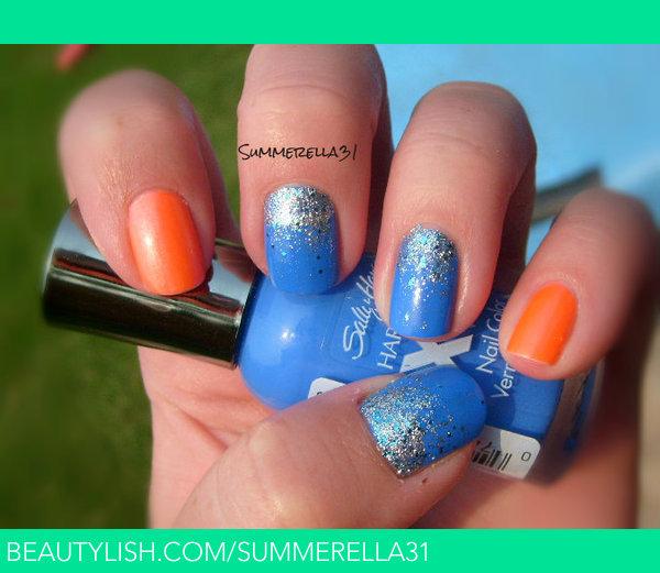 Okc thunder nail designs gallery nail art and nail design ideas summer a wonderland nails nails gallery beautylish okc thunder nails take two prinsesfo gallery prinsesfo Images