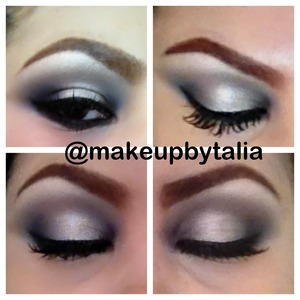 I use the naked2 to create this look