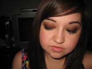 Jazziebabycakes' Dolce & Gabbana inspired eye makeup! It's now my go-to smoldery look. :)