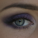 Porple smokey eye