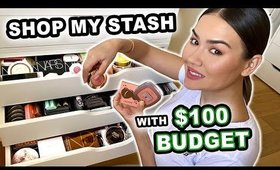 SHOP MY STASH - USING MY CHEAPEST MAKEUP | Maryam Maquillage