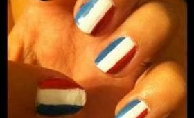 2 Easy 4th of July Nail Designs!