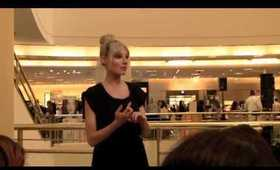 Nordstroms Trend Show 2011- MAC Cosmetics Training Class- Best Summer Trends & Products