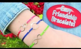 DIY Friendship Bracelets EASY (it takes no more than 2 mins to make one)