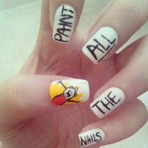 Paint all the nails meme. ?