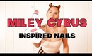HOW TO: Miley Cyrus Nails