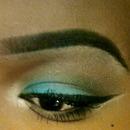 Teal Blue Eyeshadow