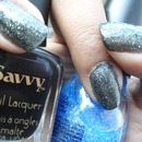 Savvy: Ebony + Sinful Colors: Hottie
