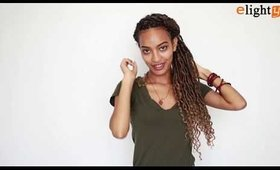Crochet Faux Locs Hairstyles Demo PartⅡ