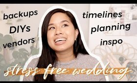 How to Plan a STRESS FREE Wedding Day   Best Tips + Advice for Brides