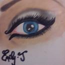 drawn with makeup