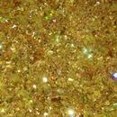 Gold glitter nail mix