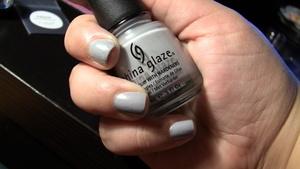 Nails: China Glaze Nail Polish in Pelican Gray