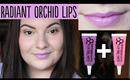 Radiant Orchid Lips Tutorial (feat. OCC Lip Tar)   OliviaMakeupChannel