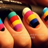 Colourful nails