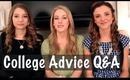 College Advice Q&A with MsBrittanyBrat & DaniAustin2