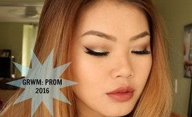 GRWM: Prom 2016   chloeanneyoung