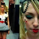 Alice in Wonderland inspired fashion look
